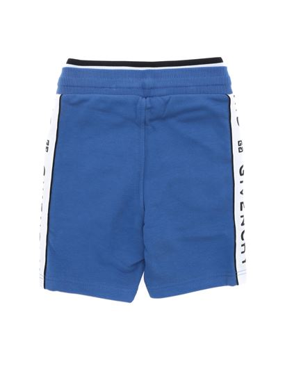 Givenchy - Blue shorts with side band