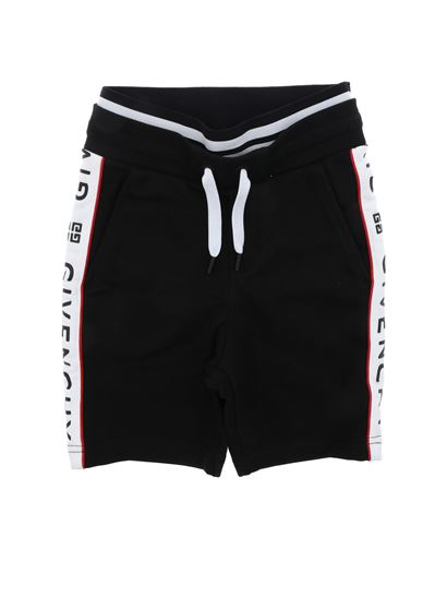 Givenchy - Black shorts with side band