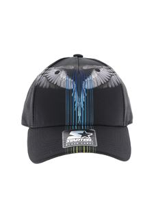Marcelo Burlon Kids - Barcode Wings black cap
