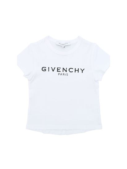 Givenchy - White t-shirt with black vintage logo