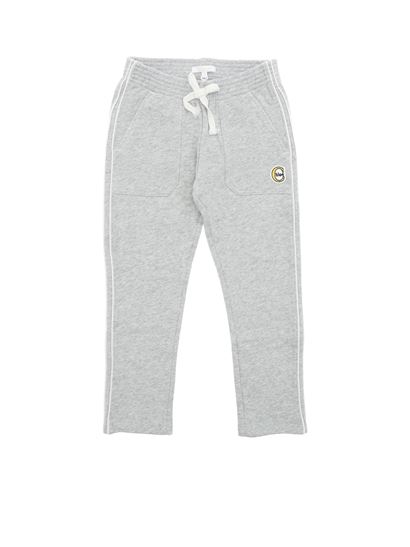 Chloé - Gray trousers with logo