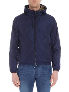 Fay - Blue water repellent jacket