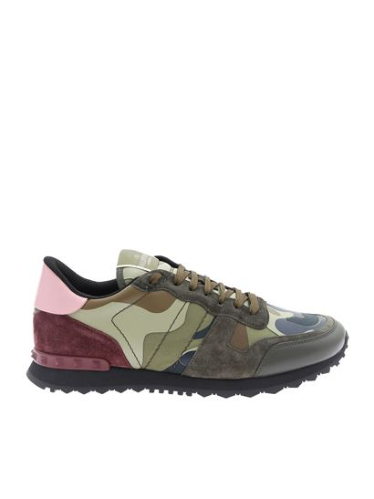 Valentino - Rockrunner Camouflage Valentino sneakers