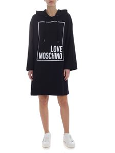 Love Moschino - Black dress with logo