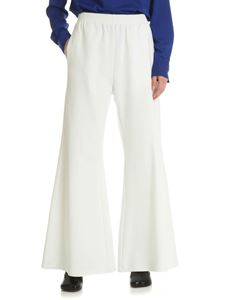 MM6 by Maison Martin Margiela - White palazzo trousers