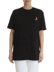 Calvin Klein - Black t-shirt with embroidered logo
