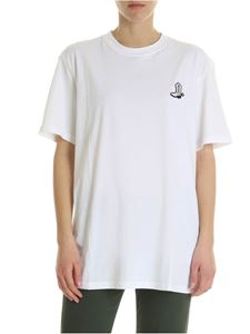 Calvin Klein - White t-shirt with embroidered logo