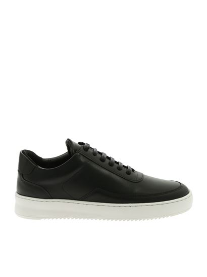a56d313e12d622 Filling Pieces Spring Summer 2019 low mondo ripple sneakers in black ...