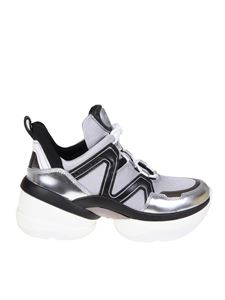 Michael Kors - Olympia sneakers in silver