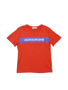Calvin Klein - CALVIN KLEIN JEANS t-shirt in red