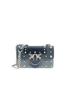 Pinko - Mini Love Jeans 2 blue bag