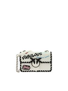 Pinko - Mini Love Fabulous white bag