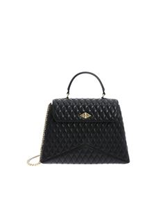 Ballantyne - Diamond black bag in genuine leather