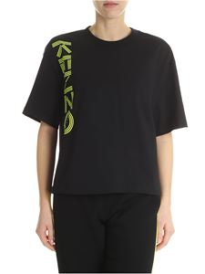 Kenzo - Overfit t-shirt with neon print