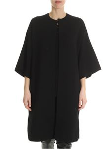 Stella McCartney - Unlined overfit black caban