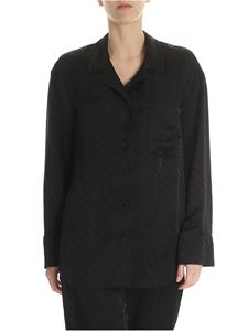 Alexander Wang - Pajama Monogram shirt in black