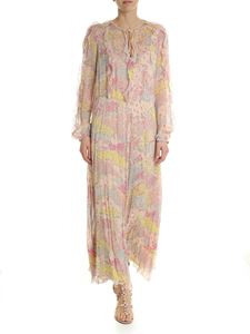 Red Valentino - Pink dress in silk floral pattern