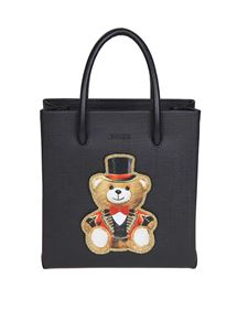 Moschino - Mini black Teddy Circus handbag