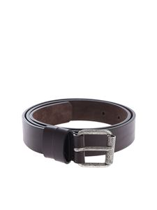 Aspesi - Aspesi belt in brown leather with buckle