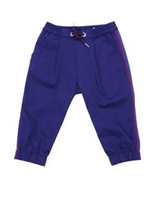 Baby Dior - Blue Baby Dior jog trousers