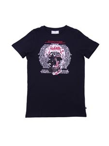 Philippe Plein Junior - Aloha Plein T-shirt in black