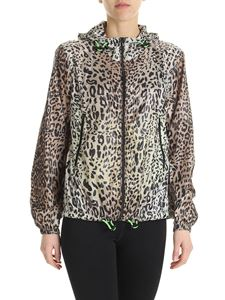 Pinko - Trekking 2 jacket in animal printed fabric