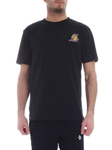 Marcelo Burlon - Lakers Mesh black T-shirt