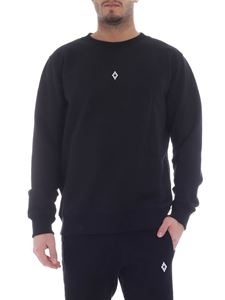 Marcelo Burlon - Heart Wings black sweatshirt