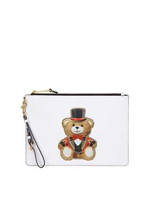 Moschino - White Teddy Circus clutch