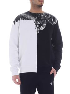 Marcelo Burlon - Wings Snakes sweatshirt in black and white