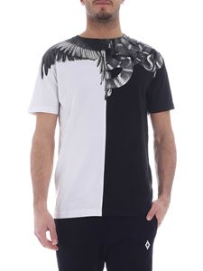 Marcelo Burlon - Wings Snakes T-shirt in black and white