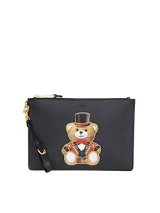 Moschino - Black Teddy Circus clutch