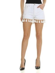 Dondup - Micol Dondup shorts in white