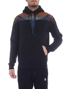 Marcelo Burlon - Wings sweatshirt in black and multicolor