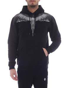 Marcelo Burlon - Wings black and grey sweatshirt