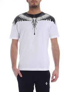 Marcelo Burlon - Wings white and black T-shirt