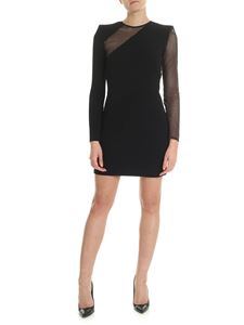 Dsquared2 - Black dress with nude effect details