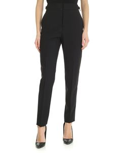 Dsquared2 - Black trousers with tailored fold