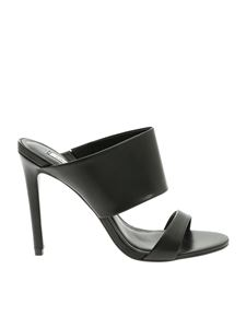 Steve Madden - Mallory sandals in black leather