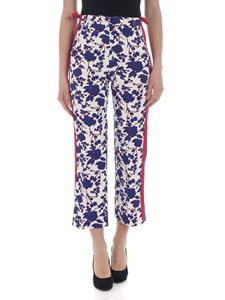 Pinko - Raggirato trousers with floral print