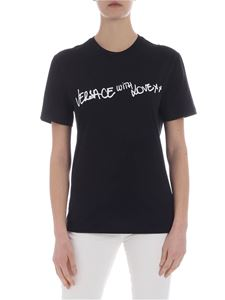 Versace - Versace With Love t-shirt in black