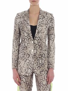 Pinko - Dorotea jacket in beige and brown