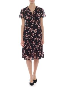 Michael Kors - Black dress with floral print