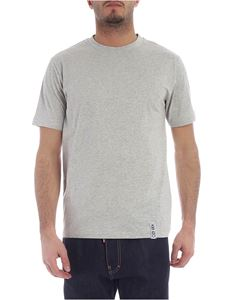Kenzo - Kenzo t-shirt in gray melange cotton
