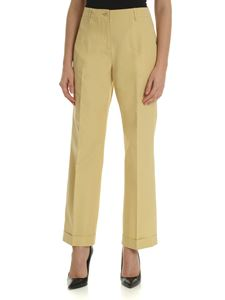Aspesi - Tailored trousers in yellow-beige color