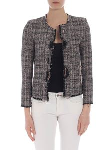 Iro - Jocund jacket in pink beige and black