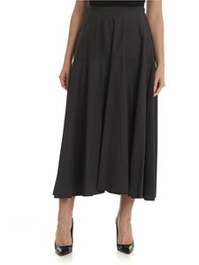 Aspesi - Grey full skirt