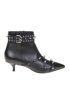 Red Valentino - Black Romantic Punk ankle boots