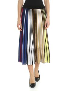 Kenzo - Vertical Ribs multicolor skirt
