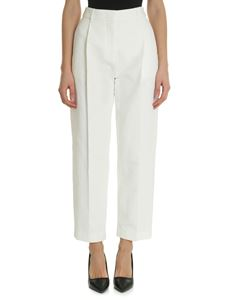 See by Chloé - White jeans with front pleats